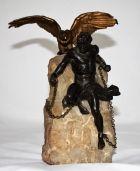 Скульптура Прометей Бронза Франция