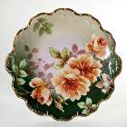 Настенная тарелка с розами. Лимож.